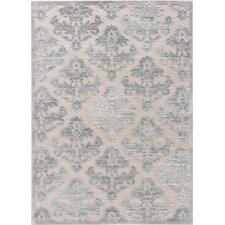 Chastitee Warm Sand/Frosty Green Area Rug
