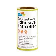 4 Pack 60 Sheet Lint Roller Refill (Set of 4)