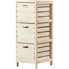 Oliver 3 Drawer Crate Chest by August Grove