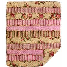 K's Cottage Rag Cotton Throw Blanket