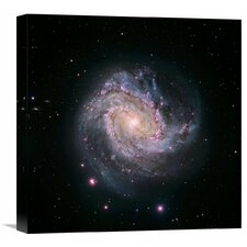 M83 - Spiral Galaxy (Hubble-Magellan Composite) Photographic Print on Wrapped Canvas  by Global Gallery