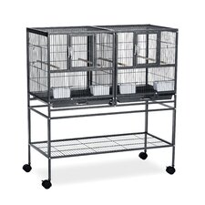 Hampton Deluxe Divided Breeder Cage System with Stand