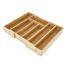 Expendable Bamboo Kitchen Drawer Organiser