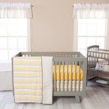 Seashore 3 Piece Crib Bedding Set