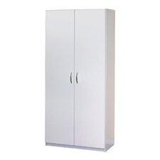 """71.75"""" H x 30"""" W x 20.5"""" D Flat Panel Wardrobe Cabinet"""