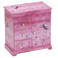Freya Pretty Fairy Chest Style Musical Jewellery Box
