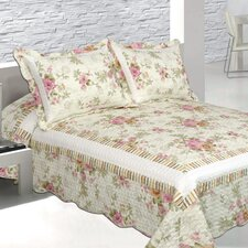 Pretty Vista 3 Piece Reversible Quilt Set