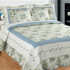 Mayflower Dawn 3 Piece Quilt Set