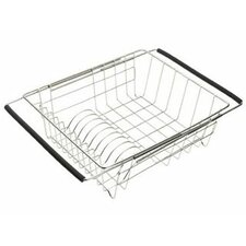 Stainless Steel Dish Rack with Extendable Arms