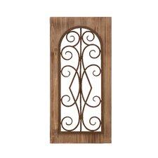 Wood and Metal Wall Decor