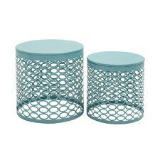 2 Piece Side Table Set by Cole & Grey