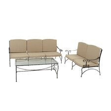 3 Piece Deep Seating Group with Cushion by Cole & Grey