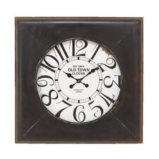 "32"" Metal Wall Clock"