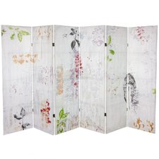 "63"" x 94.5"" Paradise Grove Canvas 6 Panel Room Divider"