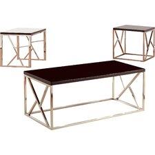 Elvin Retro 3 Piece Coffee Table Set by Hokku Designs