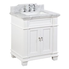 "Elizabeth 30"" Single Bathroom Vanity Set"