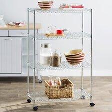 Wayfair Basics 48 H 4 Shelf Wire Shelving Unit by Wayfair Basics™