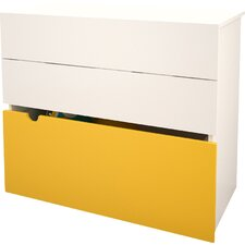 Taxi 2 Drawer Chest with Storage Trunk by Nexera