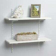 Standard and Bracket Decorative Shelf Kit by Knape&Vogt
