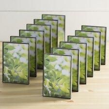 wayfair basics 12 piece bent l shape desk picture frame set