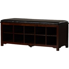 Benton Cape Anne Wood Storage Entryway Bench