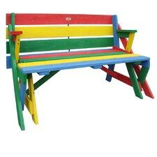 Rechteckiger Kinder-Picknicktisch