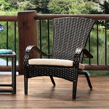 Sheila Patio Arm Chair with Cushion (Set of 6) by Hokku Designs