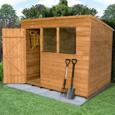 8 x 6 Wooden Storage Shed