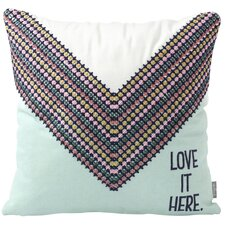 Love it Here Cotton Throw Pillow by Hallmark Home & Gifts