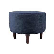 Lucky Sophia Round Standard Ottoman by MJL Furniture