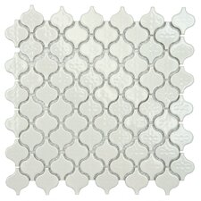 "Beacon 1.375"" x 1.5"" Porcelain Mosaic Tile in Glossy White"