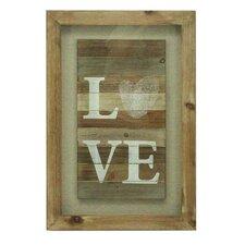 Love Framed Graphic Art by Donny Osmond Home