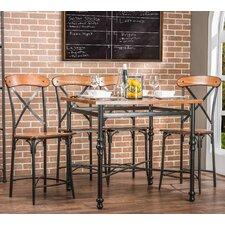Baxton Studio 5 Piece Pub Set by Wholesale Interiors