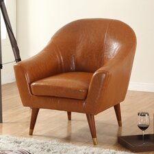 Mid Century Modern Barrel Chair by Madison Home USA