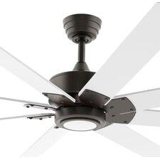 """72"""" Levon Custom 8 Blade Ceiling Fan with Remote"""