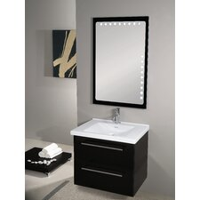 Fly 29 Single Wall Mounted Bathroom Vanity Set with Mirror by Iotti by Nameeks