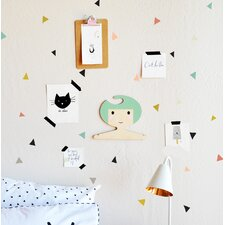 Tiny Confetti Triangles Wall Decal