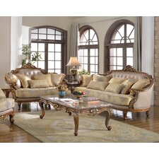 Traditional Sofa and Loveseat Set  by BestMasterFurniture