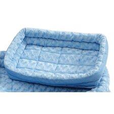 Quiet Time Deluxe Fleece Double Bolster Bed
