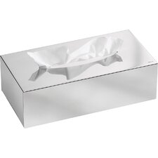 Nexio Polished Tissue Box Cover