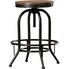 Empire Adjustable Height Swivel Bar Stool (Set of 2) by Trent Austin Design®