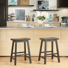 Elise 24 Bar Stool (Set of 2) by August Grove®