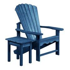 Aloa Adirondack Chair with Table Set