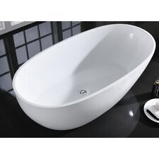 "Sarah 60"" x 34"" Freestanding Bathtub"