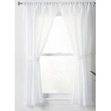 Wayfair Basics Sheer Rod Pocket Curtain Panels Set Of 2
