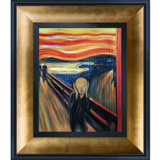 The Scream by Edvard Munch Framed Oil Reproduction