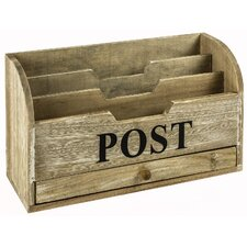 Last Post Letter Rack with Drawer