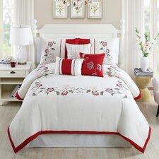 Calla Embroidered 7 Piece Comforter Set