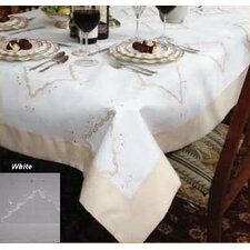 Dainty Embroidered Tablecloth