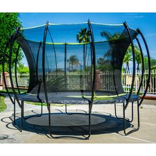 Stratos 12' Trampoline with Safety Enclosure